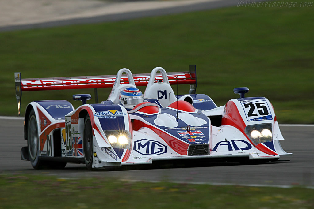The new Lola nose is back on the MG - Chassis: B0540-HU05 - Entrant: RML  - 2007 Le Mans Series Nurburgring 1000 km