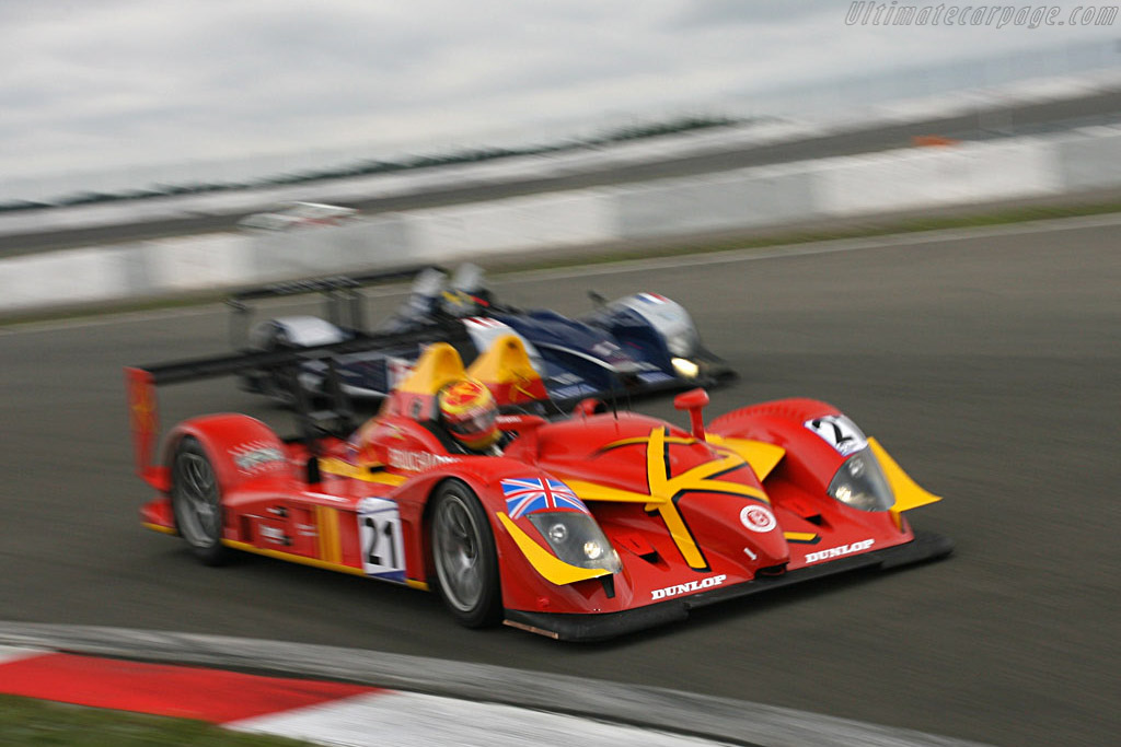 This Radical debuted a year ago .. - Chassis: SR9002 - Entrant: Bruichladdich Radical  - 2007 Le Mans Series Nurburgring 1000 km