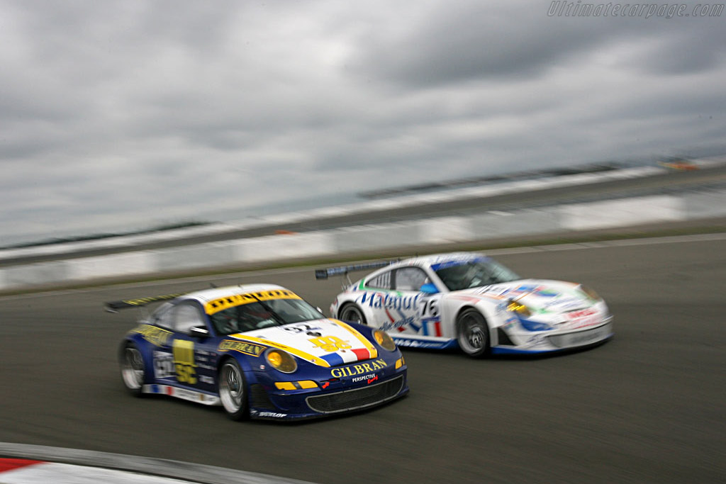 Two of a kind - Chassis: WP0ZZZ99Z7S799917 - Entrant: Thiery Perrier  - 2007 Le Mans Series Nurburgring 1000 km