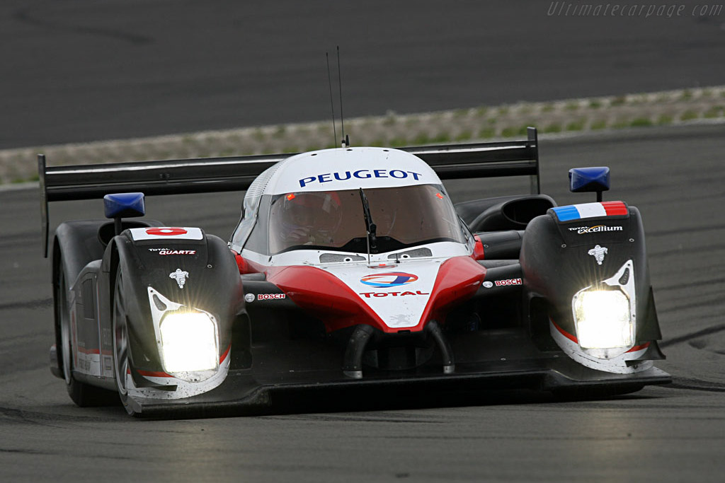 Unstoppable in Audi's absence - Chassis: 908-03 - Entrant: Team Peugeot Total  - 2007 Le Mans Series Nurburgring 1000 km