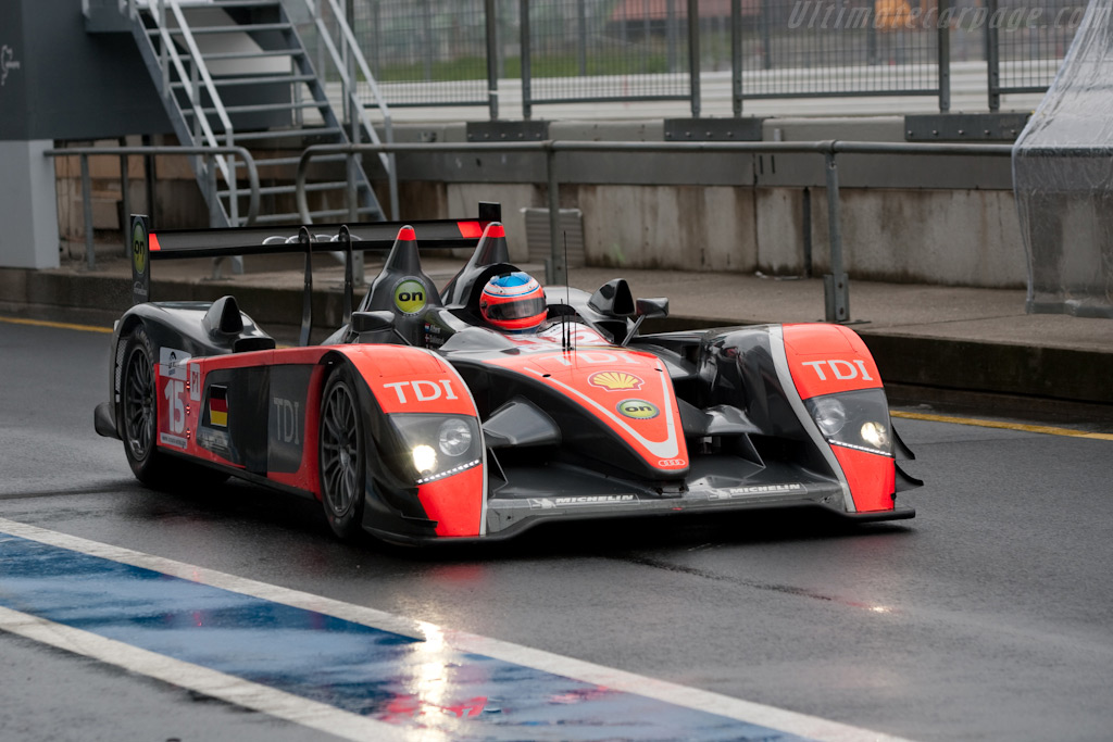 A wet start to the weekend - Chassis: 101   - 2009 Le Mans Series Nurburgring 1000 km