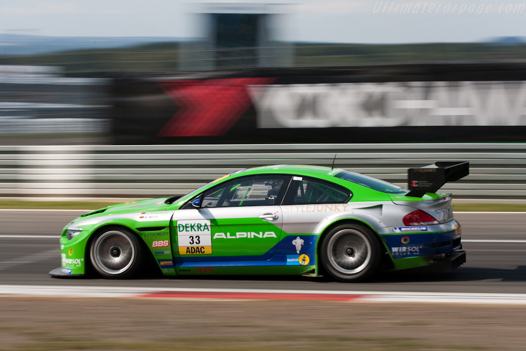 Alpina B6 GT3 - Chassis: WAPB6GT309AH14005   - 2009 Le Mans Series Nurburgring 1000 km