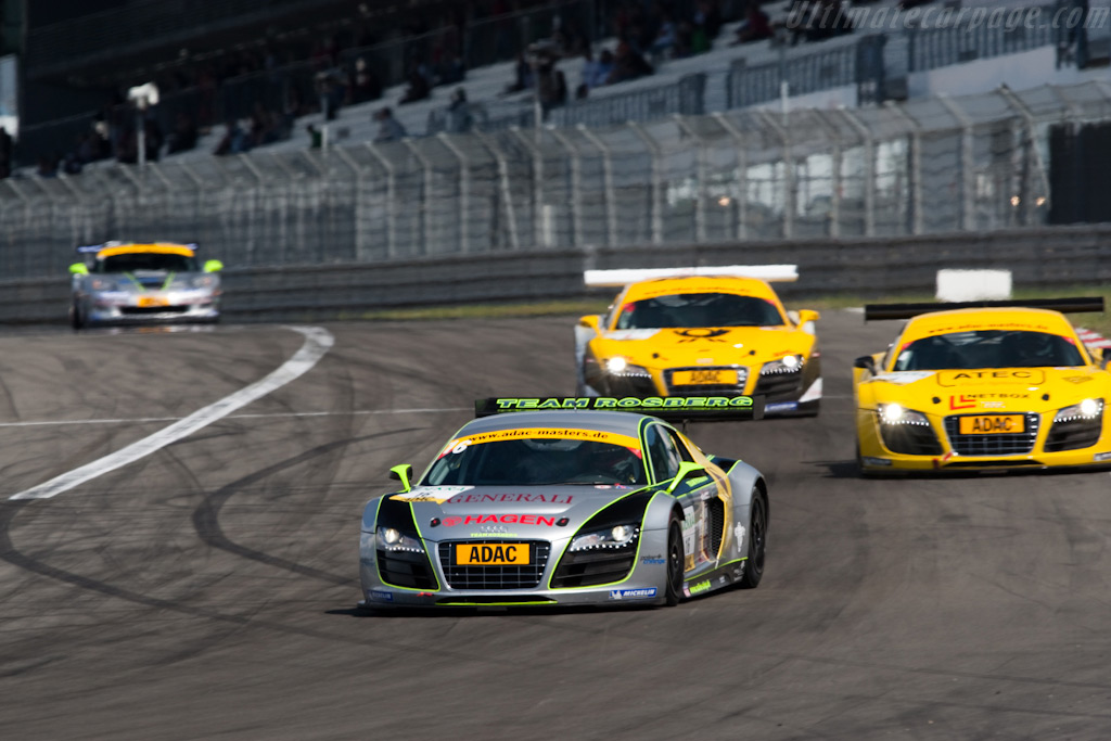 Audi R8 LMS - Chassis: AS42AOFGT3090102   - 2009 Le Mans Series Nurburgring 1000 km