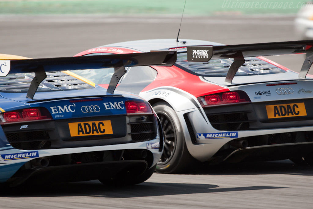 Audi R8 Lms Chassis As42a0fgt3090108 2009 Le Mans