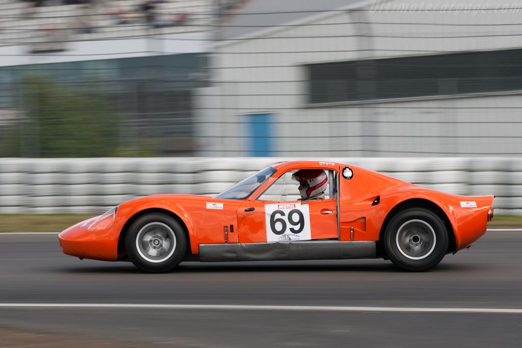 Chevron B8 - Chassis: CH-DBE-63   - 2009 Le Mans Series Nurburgring 1000 km