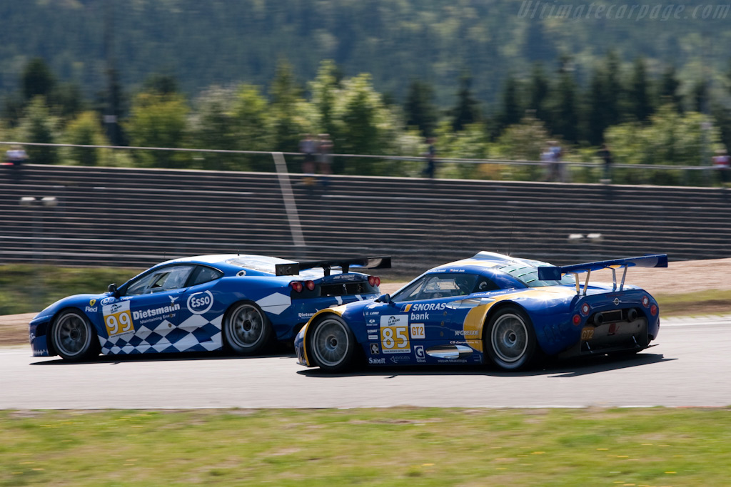 Coronol's chase up the field - Chassis: XL9AB01G37Z363190   - 2009 Le Mans Series Nurburgring 1000 km