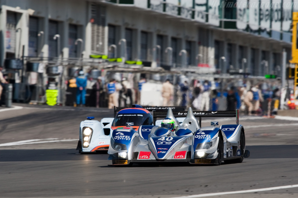 Down the straight - Chassis: 09S-05   - 2009 Le Mans Series Nurburgring 1000 km