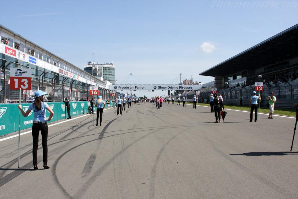 Empty Grid    - 2009 Le Mans Series Nurburgring 1000 km