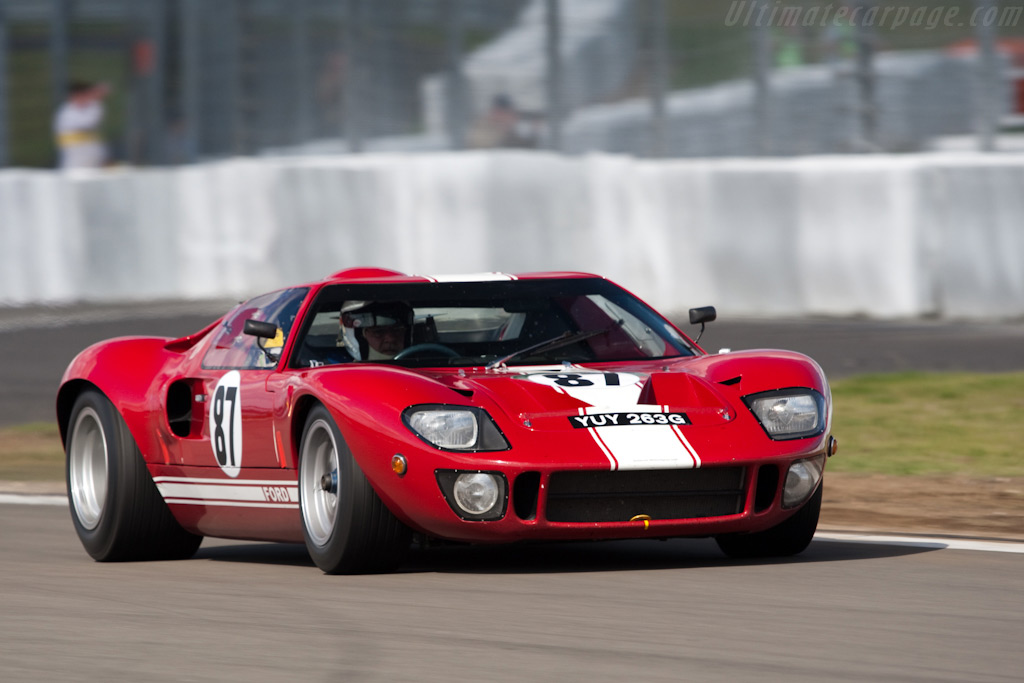 Ford GT40 - Chassis: GT40P/1089   - 2009 Le Mans Series Nurburgring 1000 km