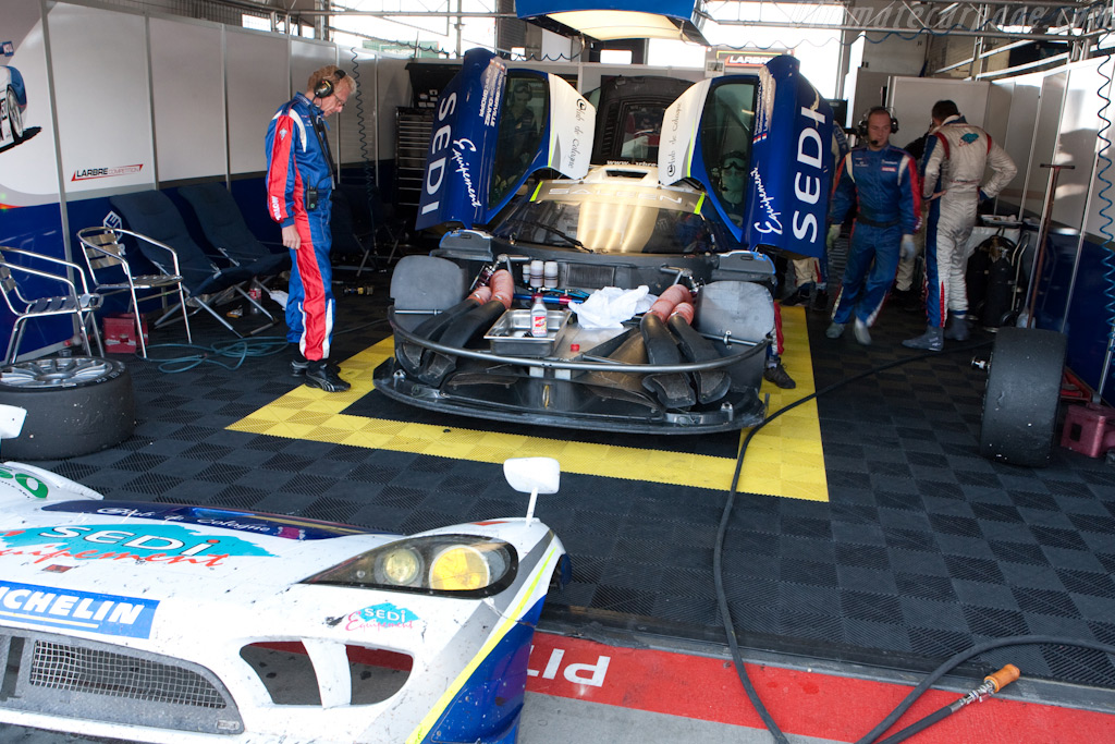 Hard work would pay off - Chassis: 082R   - 2009 Le Mans Series Nurburgring 1000 km