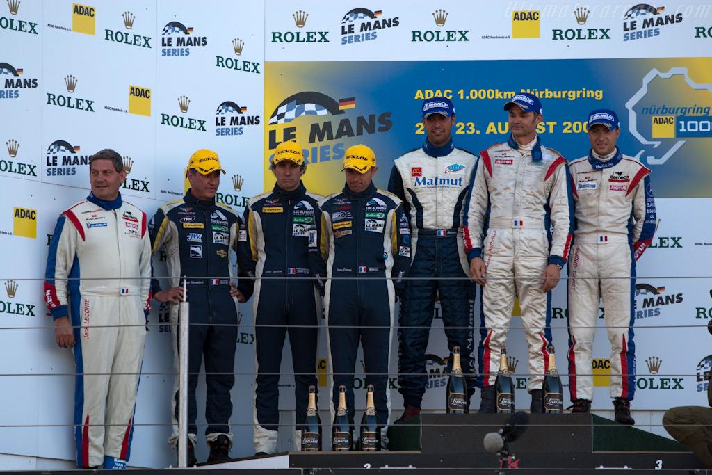 Just two GT1 teams    - 2009 Le Mans Series Nurburgring 1000 km