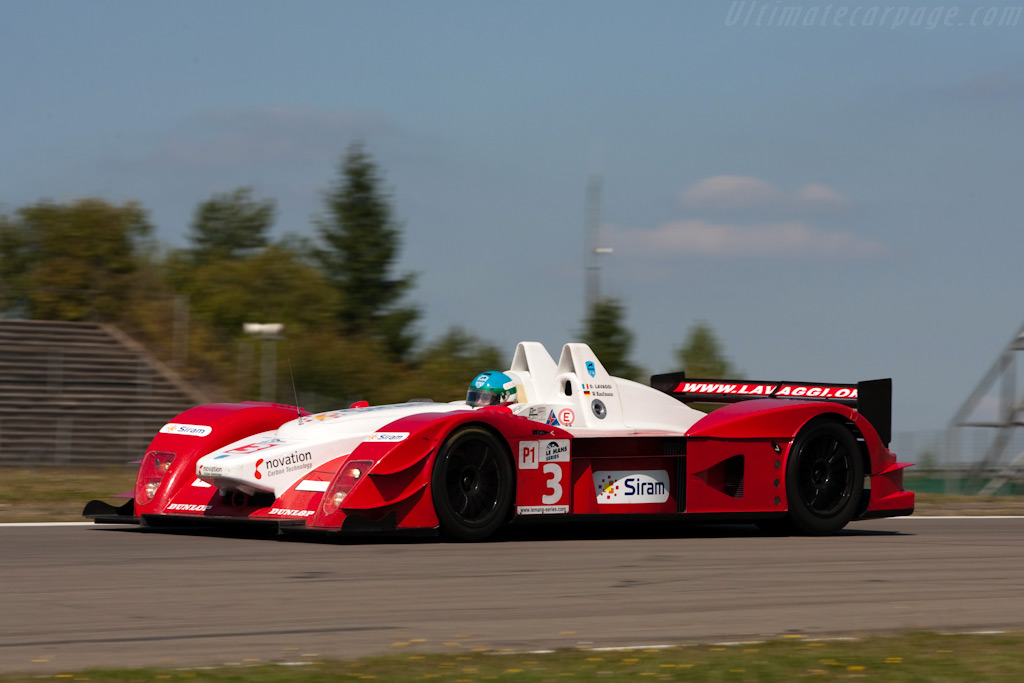 Lavaggi on one of his few laps - Chassis: 1   - 2009 Le Mans Series Nurburgring 1000 km