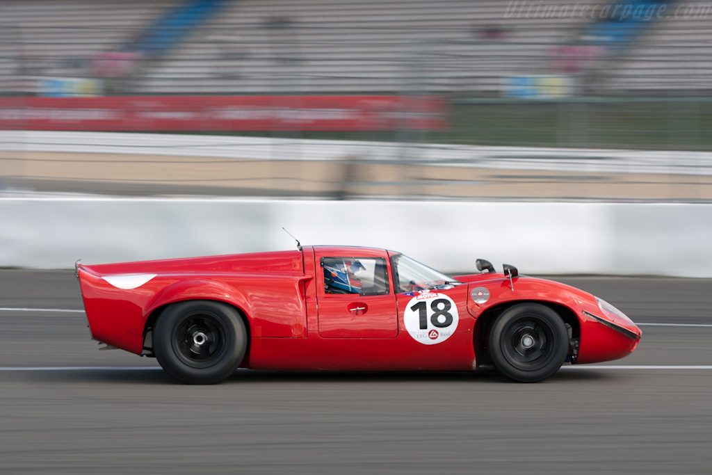 Lola T70 Mk III - Chassis: SL73/110 - Driver: Bernard Thuner  - 2009 Le Mans Series Nurburgring 1000 km