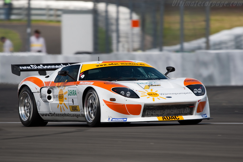 Matech-Ford GT3 - Chassis: MR08FORDGT3SN009   - 2009 Le Mans Series Nurburgring 1000 km