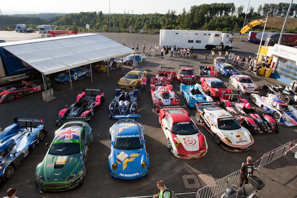 Parc Ferme    - 2009 Le Mans Series Nurburgring 1000 km