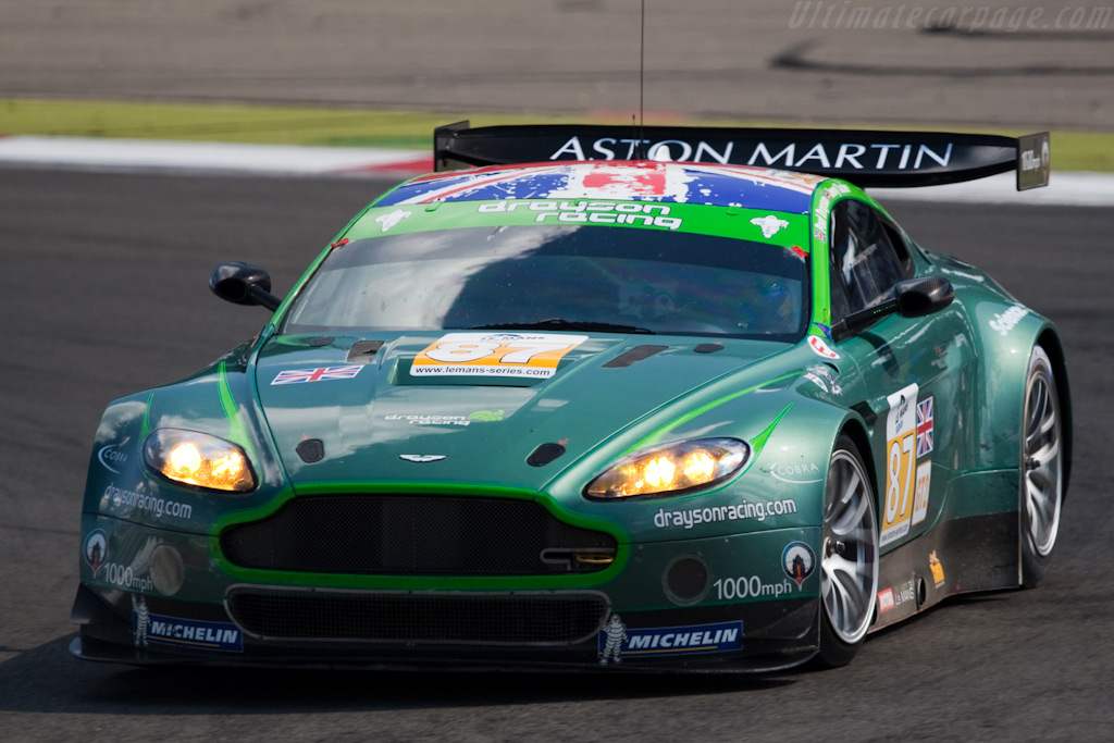 Penultimate outing for the Drayson V8 Vantage - Chassis: GT2/002   - 2009 Le Mans Series Nurburgring 1000 km