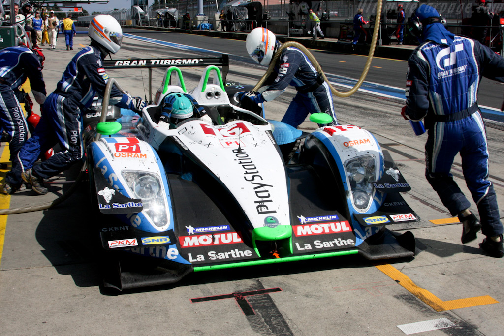 Pescarolo's only stop - Chassis: 01-08   - 2009 Le Mans Series Nurburgring 1000 km