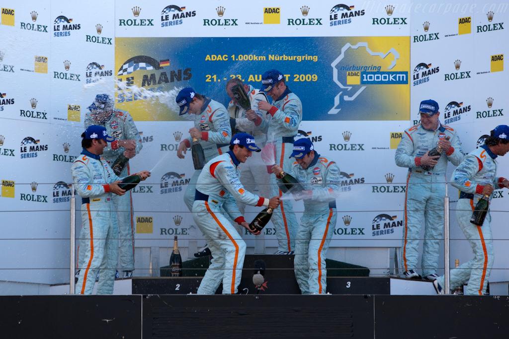 Team building exercise    - 2009 Le Mans Series Nurburgring 1000 km