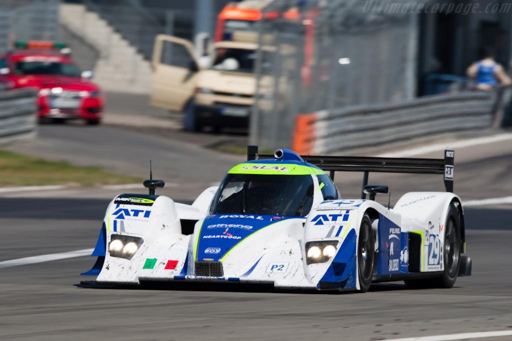 The Racing Box Lola - Chassis: B0980-HU05   - 2009 Le Mans Series Nurburgring 1000 km