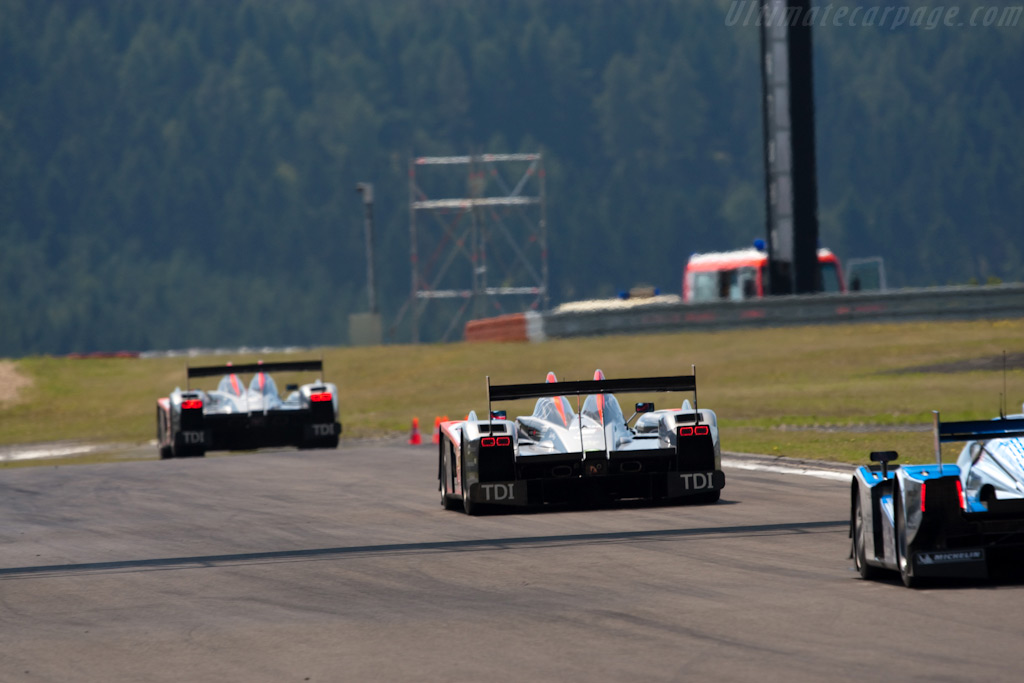 The beautiful Eifel mountains - Chassis: 201   - 2009 Le Mans Series Nurburgring 1000 km