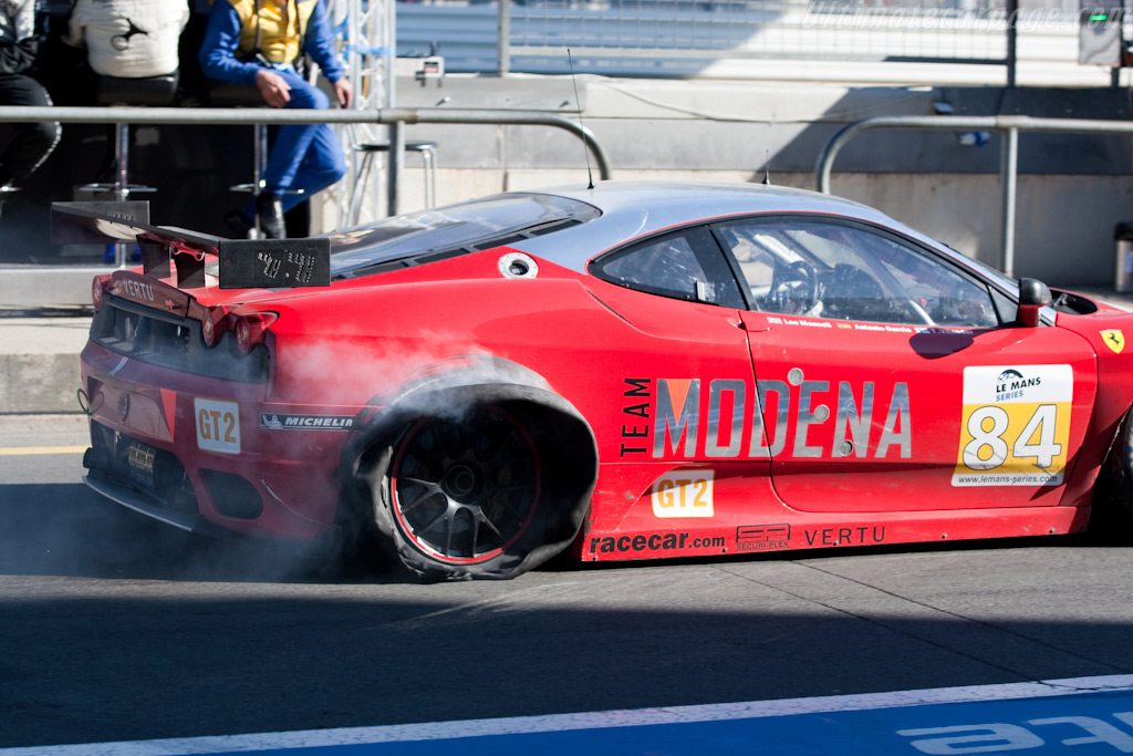 The end of Team Modena's race - Chassis: 2636   - 2009 Le Mans Series Nurburgring 1000 km