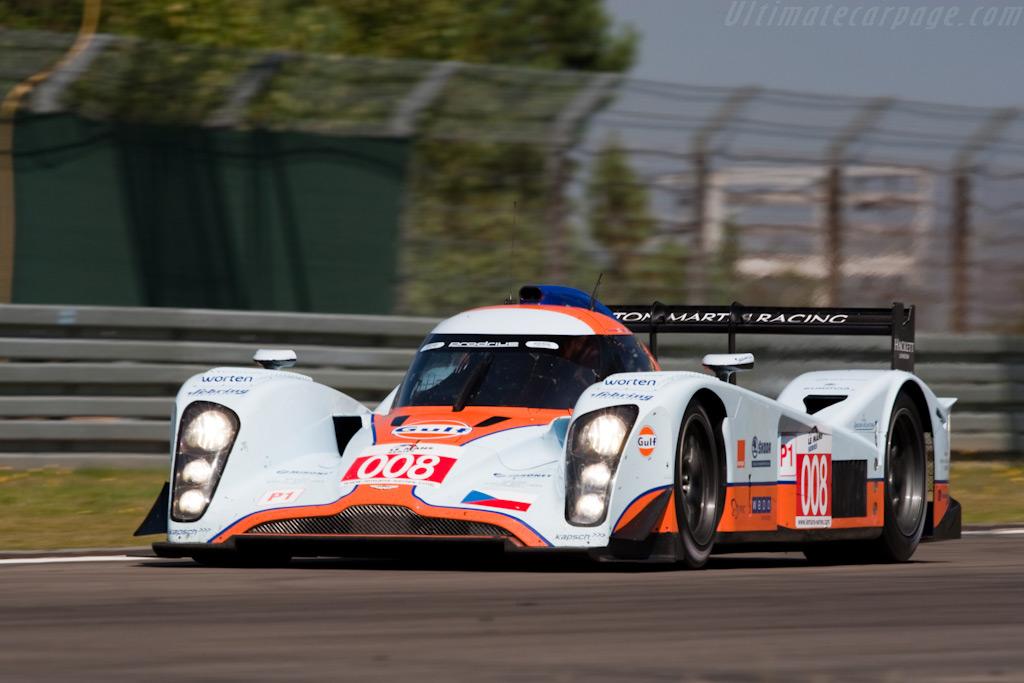 The third Lola Aston - Chassis: B0860-HU02   - 2009 Le Mans Series Nurburgring 1000 km