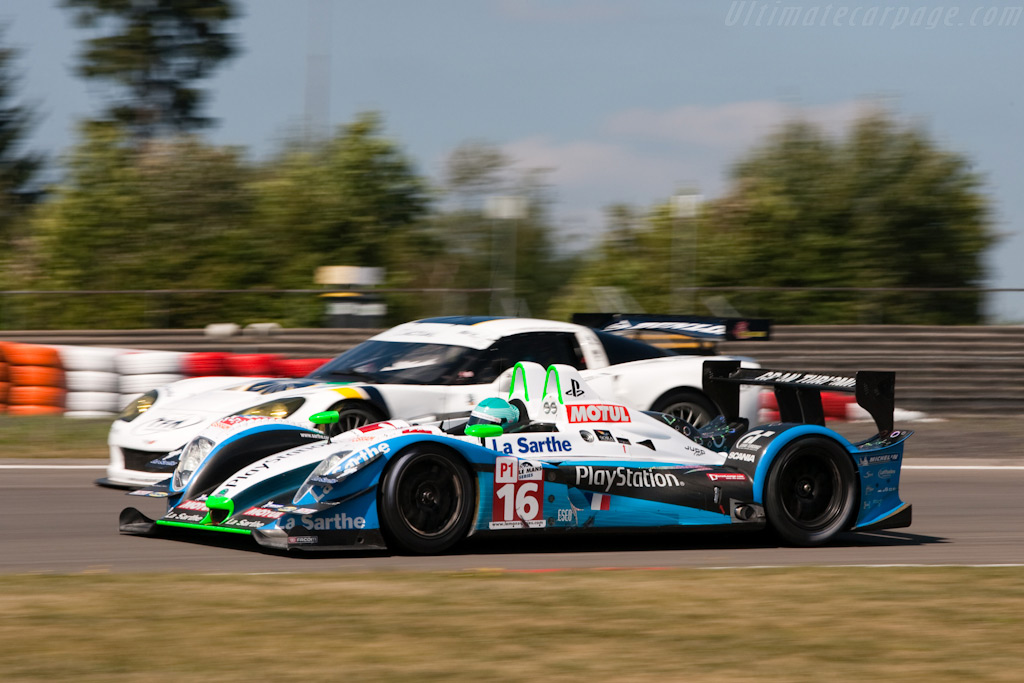 The two Le Mans based squads - Chassis: 01-08   - 2009 Le Mans Series Nurburgring 1000 km
