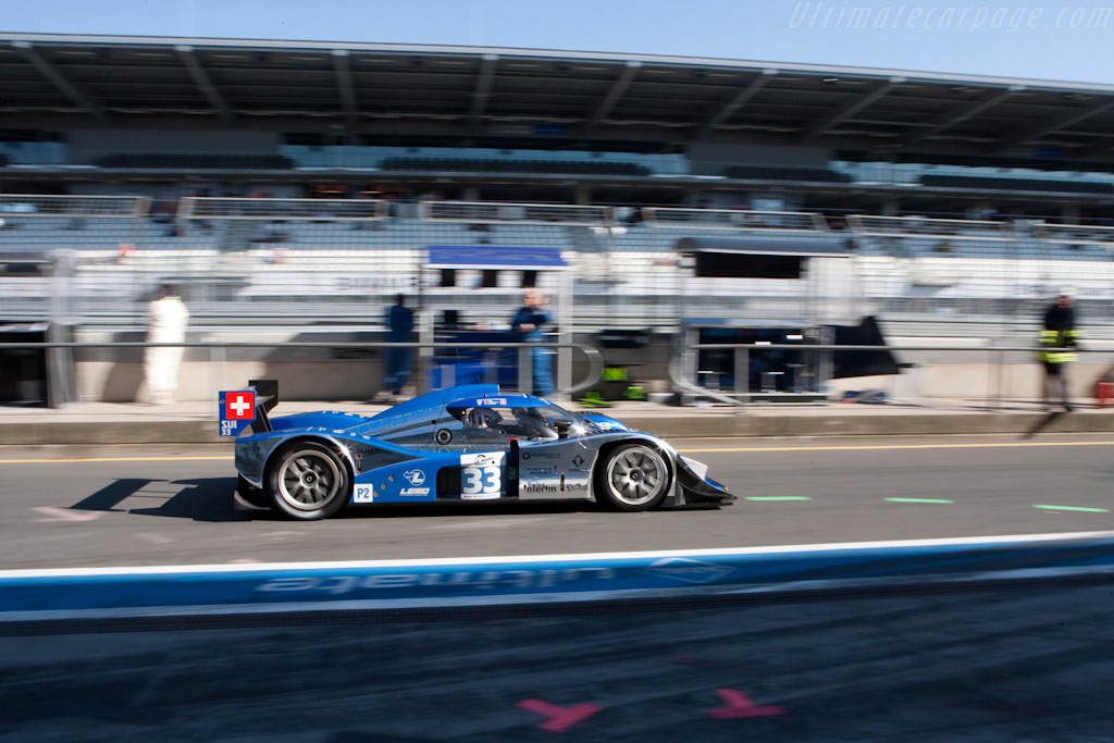Very frugal - Chassis: B0980-HU01S   - 2009 Le Mans Series Nurburgring 1000 km