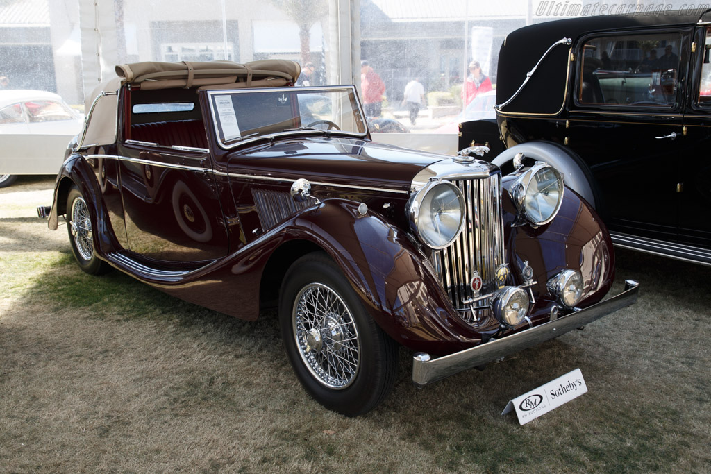 Jaguar Mark IV 3½-Litre Drophead Coupe