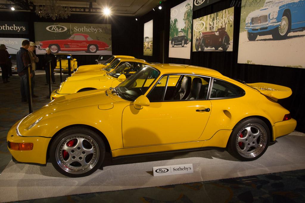 Porsche 911 Turbo S X85 Flachbau