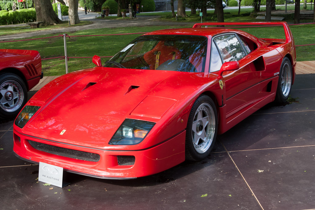 Ferrari F40 - Chassis: 80715   - 2013 Concorso d'Eleganza Villa d'Este