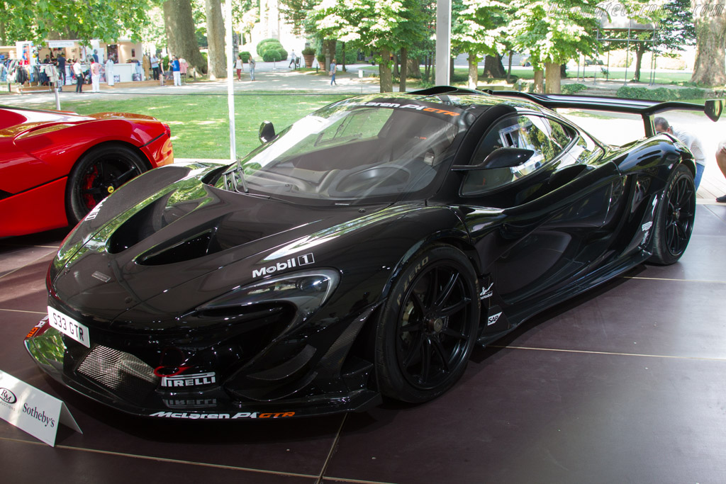McLaren P1 GTR - Chassis: SBM12ABB9FW100033   - 2017 Concorso d'Eleganza Villa d'Este