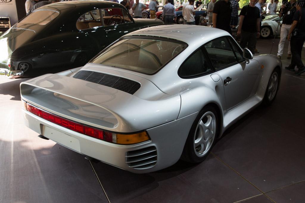 Porsche 959 - Chassis: WP0ZZZ95ZJS900199   - 2017 Concorso d'Eleganza Villa d'Este