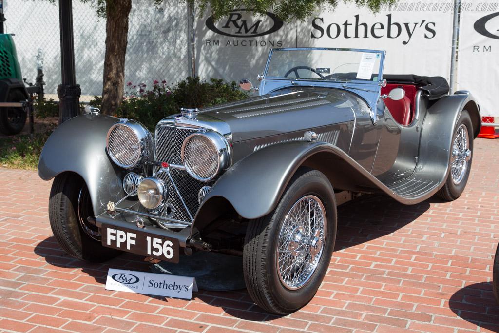 Jaguar SS 100 2.5-litre Roadster - Chassis: 18114   - 2017 Monterey Auctions