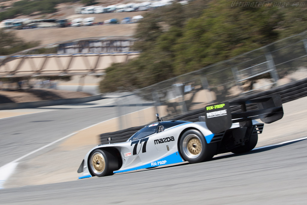 Mazda Rx 792p Chassis Gtp 001 2012 Monterey