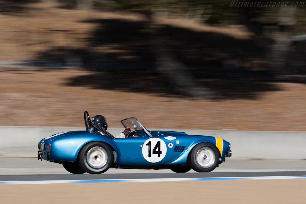 AC Shelby Cobra FIA Roadster    - 2012 Monterey Motorsports Reunion