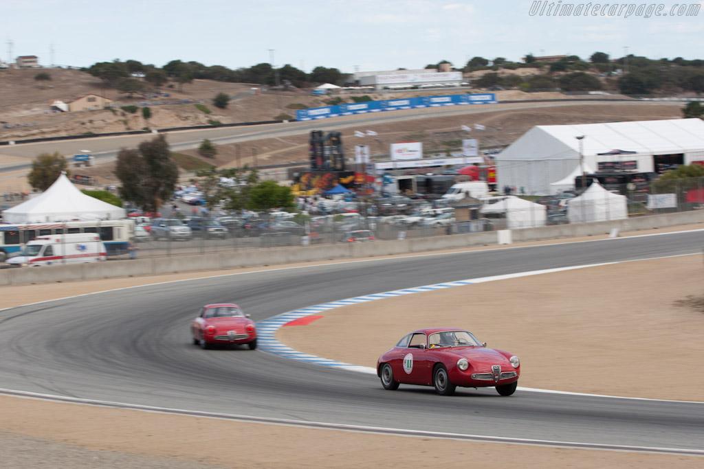 Alfa Romeo Giulietta SZ    - 2012 Monterey Motorsports Reunion