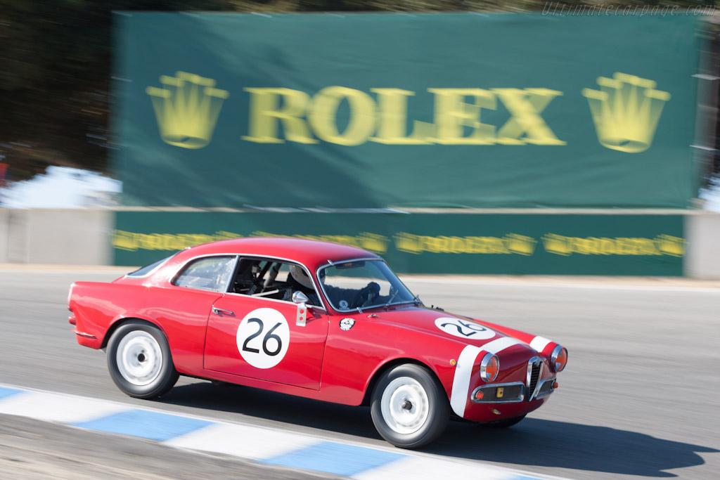 Alfa Romeo Giulietta Sprint Veloce    - 2012 Monterey Motorsports Reunion