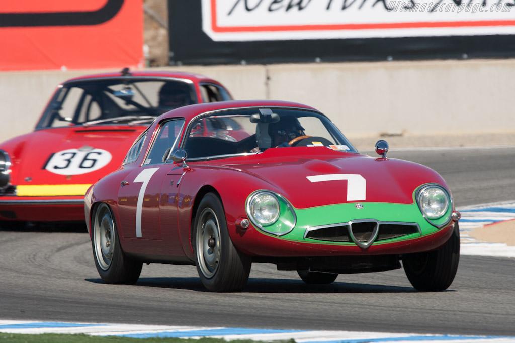 Alfa Romeo TZ - Chassis: AR750060   - 2012 Monterey Motorsports Reunion