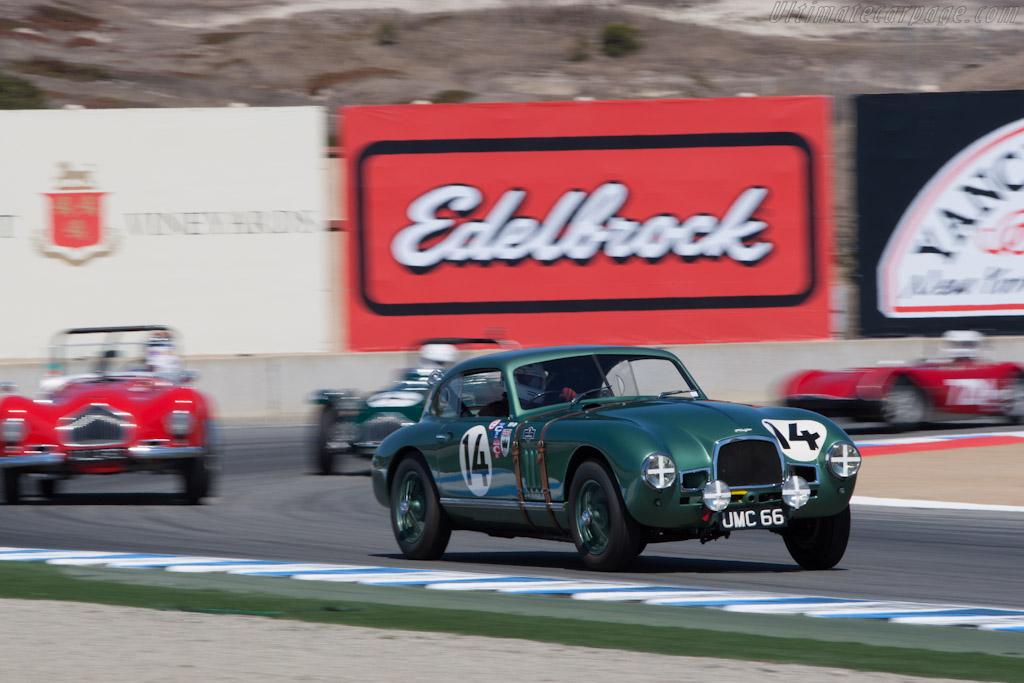 Aston Martin DB2    - 2012 Monterey Motorsports Reunion