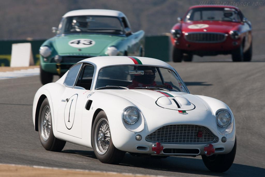 Aston Martin DB4 GT Zagato - Chassis: DB4GT/0180/L - Driver: Tom Price  - 2012 Monterey Motorsports Reunion