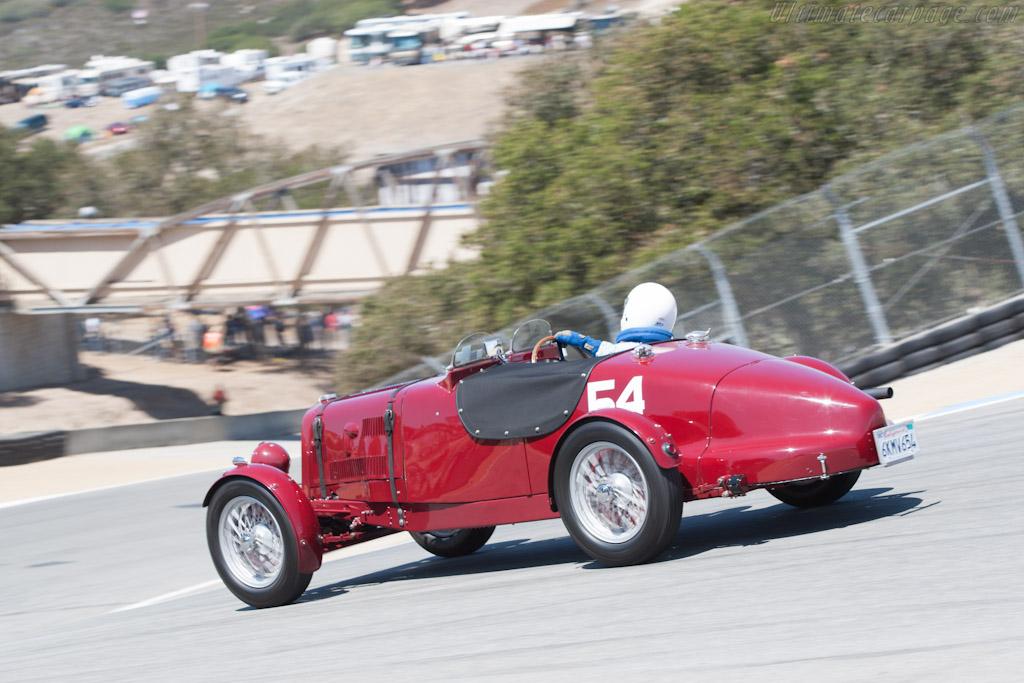 Aston Martin Short Chassis    - 2012 Monterey Motorsports Reunion