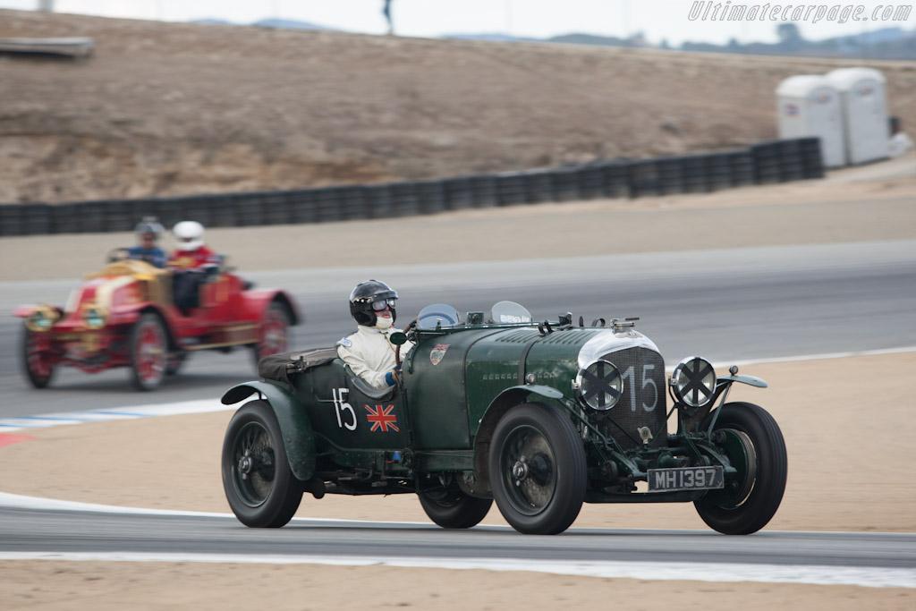 Bentley 3 / 8 Litre    - 2012 Monterey Motorsports Reunion