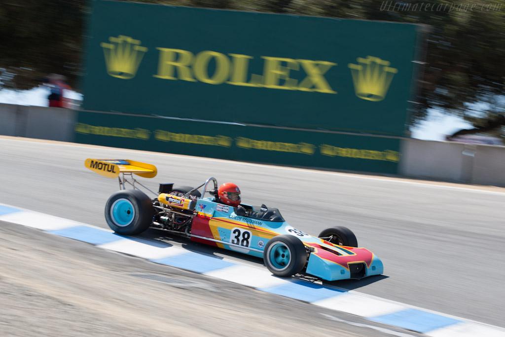 Brabham BT38    - 2012 Monterey Motorsports Reunion