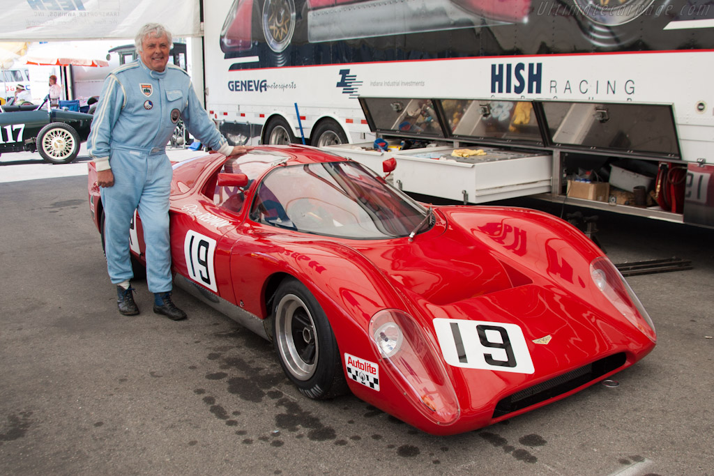 Brian Redman - Chassis: CH-DBE-1 - Driver: Brian Redman  - 2012 Monterey Motorsports Reunion