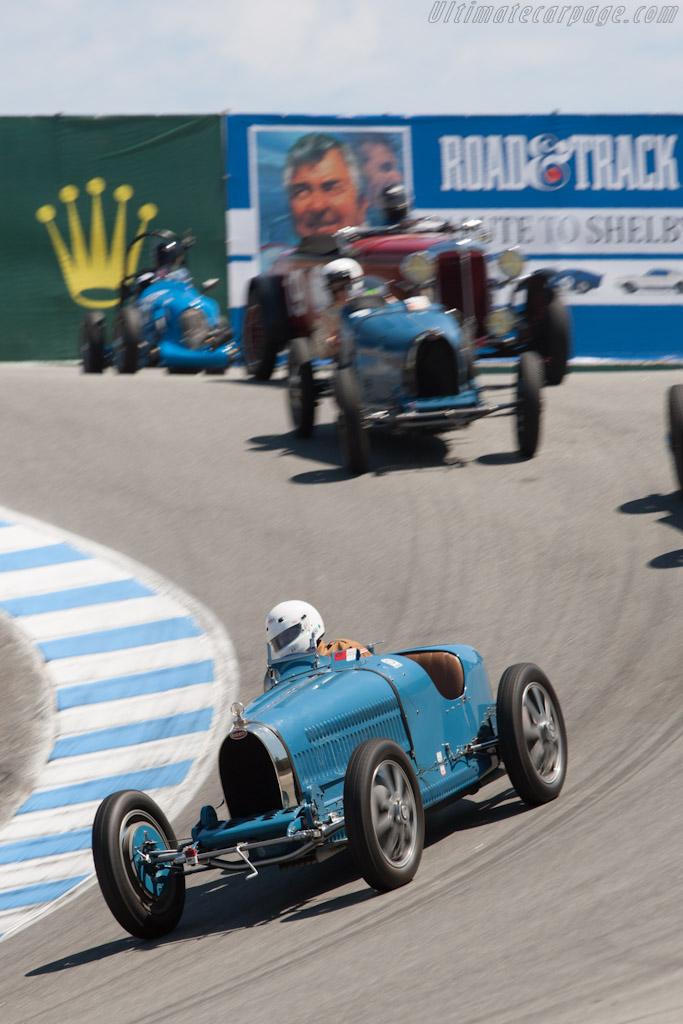 Bugatti Type 35C    - 2012 Monterey Motorsports Reunion
