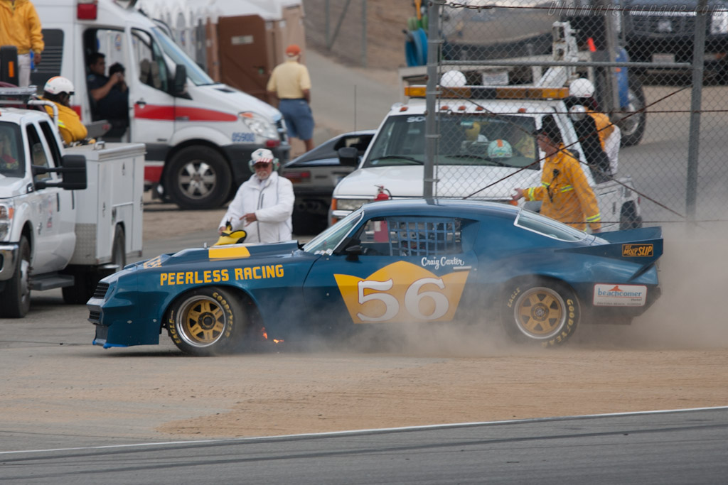 Chevrolet Camaro    - 2012 Monterey Motorsports Reunion