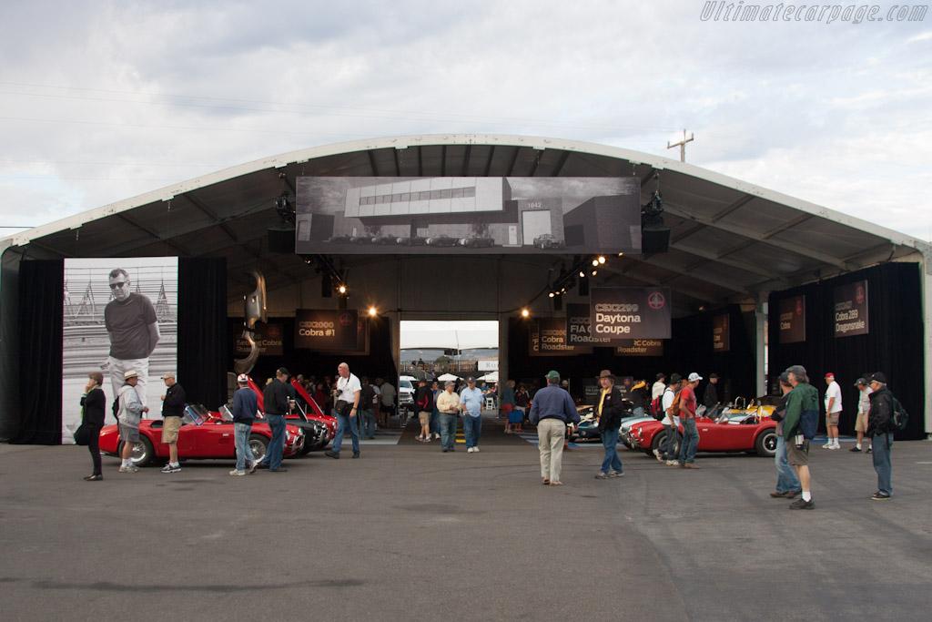 Cobra Heritage Display    - 2012 Monterey Motorsports Reunion