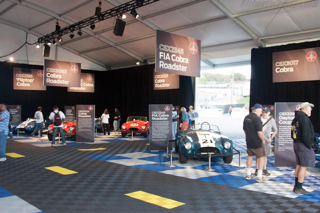 Cobra display    - 2012 Monterey Motorsports Reunion