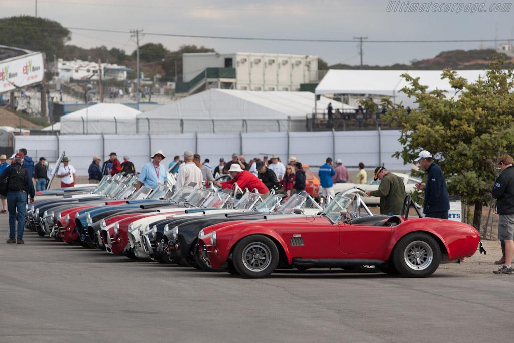 Continuation Cobras    - 2012 Monterey Motorsports Reunion